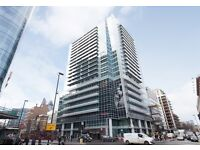 Studio flat in Crawford Building, 112 Whitechapel High Street, Aldgate East