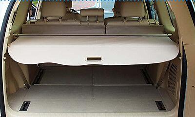 Rear Trunk Shade Cargo Cover for 2010-2018 Toyota LAND CRUISER PRADO FJ150 Beige
