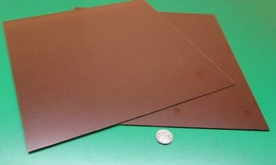Micarta Linen Phenolic Le Grade Sheet .063 116 Thick X 12 X 12 2 Units