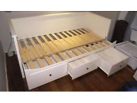 IKEA bed pulls out into double