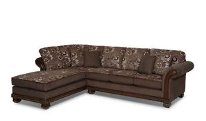 Brand new brick sectional less than 1 month old