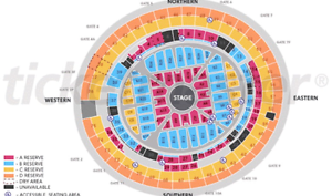 Adele Brisbane 4 March A Reserve x2 Brisbane City Brisbane North West Preview