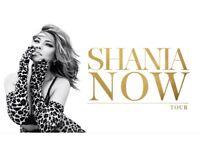 Shania Twain Concert Tickets x2