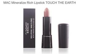 MAC mineralize rich lipstick in shade touch the earth