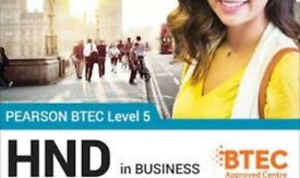 LIMITED SPACES LEFT - ENROL NOW FOR HND OR UNDERGRADUATE COURSE