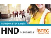 LIMITED SPACES LEFT - HND BUSINESS MANAGMENT COURSE