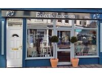 Chalk Paint Dealer & Interiors Shop in Plymouth - selling paint furniture & giftware