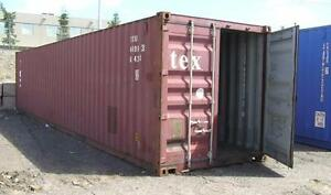 USED SECANS STORAGE SHIPPING CONTAINERS 40 FT HC SAVE MONEY $$$ CHEAPEST DEAL AROUND WE BEAT ANYONE'S PRICES ON CANS !