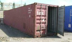 PRICE DROP SEA CONTAINER STORAGE SHIPPING CONTAINERS 40 FT $$ LOWEST PRICE AROUND WE BEAT ANYONES PRICES ON CANS !