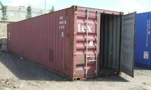 Used Shipping Containers -20' &40' ft - Cambridge