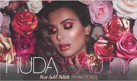 Huda beauty rose gold remastered pallet