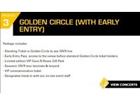 TICKET GUNS N' ROSES - GOLD CIRCLE + EARLY ENTRY FOR 16th JUNE!
