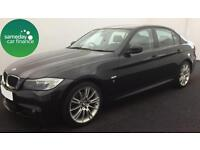ONLY £213.64 PER MONTH BLACK 2012 BMW 318D 2.0 PERFORMANCE EDITION 4 DOOR MANUAL