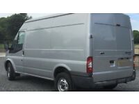 Man with a Van, High top van for removals, single item, house, flat, student, furniture etc.