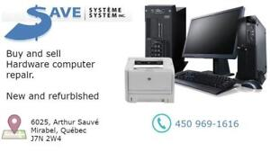 Buy, sell and hardware computer repair new and refurbished