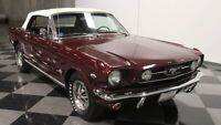 Miniature 18 Voiture American classic Ford Mustang 1966