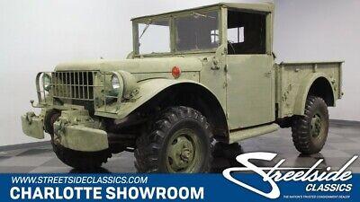 1953 Dodge M37 Power Wagon  classic vintage military utility olive drab