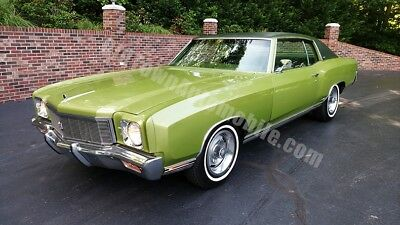 1971 Chevrolet Monte Carlo -- 1971 Chevrolet Monte Carlo for sale at Old Town Automobile!