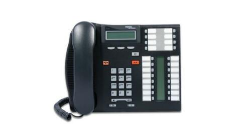 NEW Nortel T7316E Display Phone NT8B27 (Charcoal)