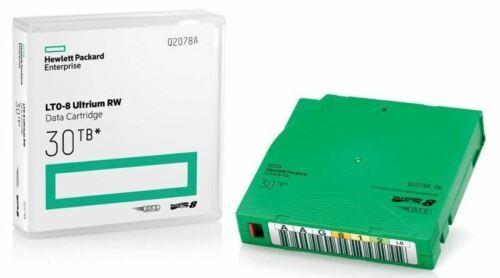 HPE Q2078A LTO-8 Ultrium RW Data Cartridge 30TB