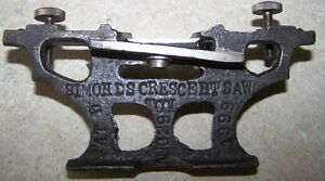 RARE SIMONDS CRESCENT SAW TOOL