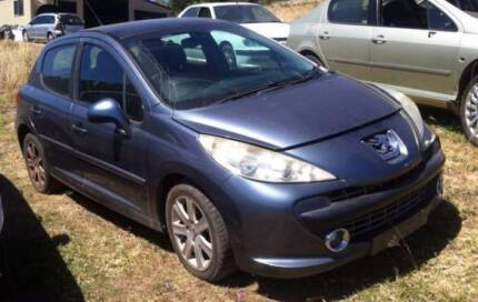 WRECKING 2007 PEUGEOT 207 AUTO 1.6L FREE FREIGHT M007