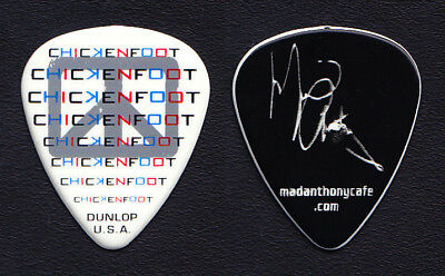 Chickenfoot Michael Anthony Signature White Guitar Pick #2 - 2012 Tour