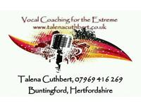 Vocal Coaching for the Extreme