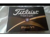 Brand New Pro V1 golf ball 2016