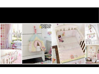 Mamas Papas Made With Love Full girls Nursery set baby bedroom
