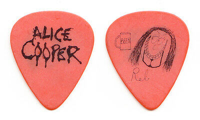 Alice Cooper Reb Beach Signature Guitar Pick - 1996 School's Out For Summer Tour