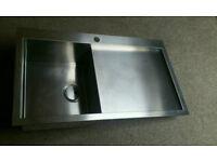 Abode Metrik kitchen sink & Abode Vixo monoblock tap