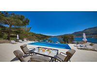 7 night villa holiday on Greek Island