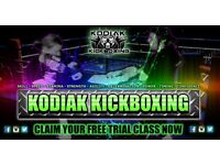 Kodiak Kickboxing Penicuik - Enrolling New Members