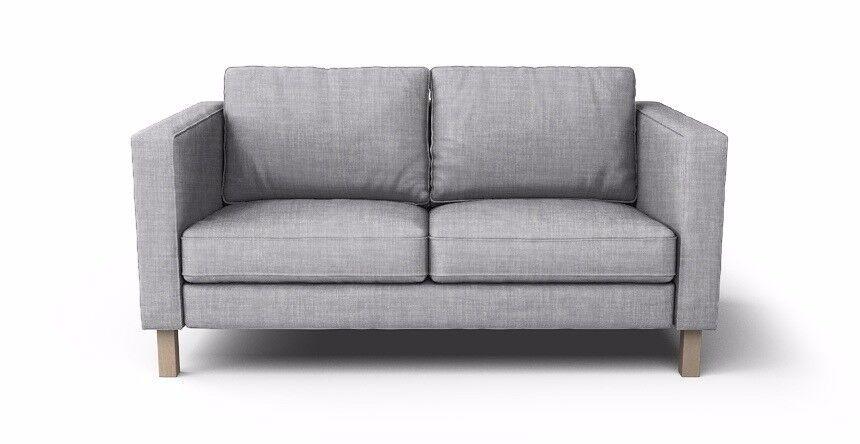 Two Seater Ikea Sofa Karlstad Sandy Colour Not Grey
