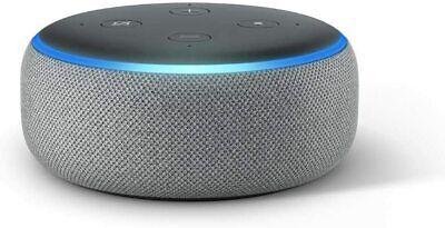 NEW Amazon Echo Dot 3rd Generation Smart Speaker with Alexa - Gray