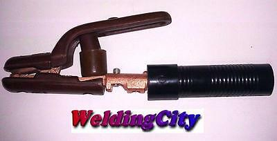 Arc Welding Stick Electrode Holder 500amp Strong Jaw W Parts Us Seller Fast
