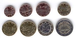 Greece-2007-Set-of-8-Euro-Coins-UNC