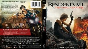 RESIDENT EVIL: THE FINAL CHAPTER (BLU RAY)