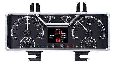 Dakota Digital 40 Ford Car 40-47 Pickup Analog Gauges Kit Black Alloy HDX-40F-K