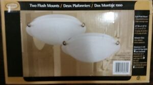 1 Flush Mount Ceiling Light Fixture