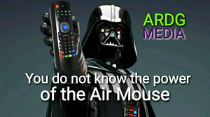 NEW! AIR MOUSE FROM ARDG MEDIA! GREAT QUALITY AND HAS KEYBOARD O