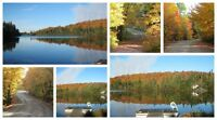 Avalable W/E Sept 25-27, 4br waterfront, Gazebo, Val-des-Lacs