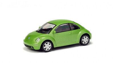SOLIDO 1/64 Volkswagen New Beetle Green Diecast 6400600