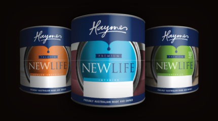 NEW Haymes Premium Paints, SECURITY DOOR/ WINDOW or FLYSCREEN