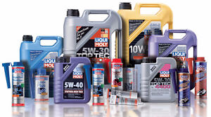 Liqui Moly Synthetic Motor Oil & Gear Oil