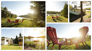 Available w/e ofd Oct 28-30, 4br waterfront, Val-des-Lacs