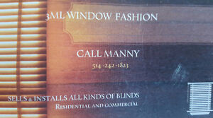 Blinds / Toile et stores