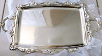 GOLDEN CROWN SILVER Plated Serving tray