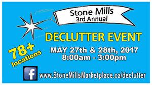 Stone Mills Community Declutter Sale